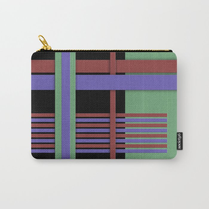 Abstract #407 Carry-All Pouch