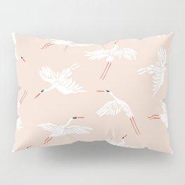 Crane Dance Pillow Sham