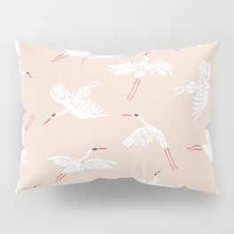 Crane Dance Pillow Sham