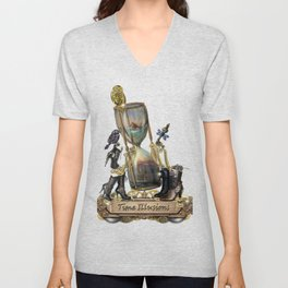 Time IIlusions Unisex V-Neck