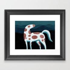 Appaloosa, Mountain Horse Framed Art Print