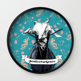 Goats of Anarchy Fundraiser: Grace Wall Clock