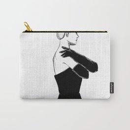 Woman in dress Carry-All Pouch