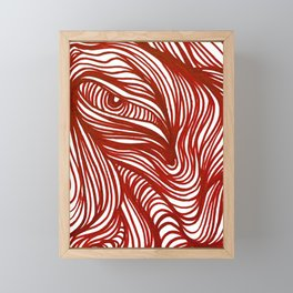 Waves 4 Framed Mini Art Print