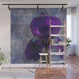 Captivating Iris Wall Mural