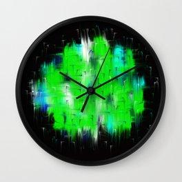 Defiance II Aqua Emerald Wall Clock