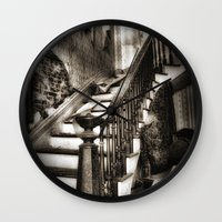 nicki Wall Clocks featuring Stairway to heaven by Tnt intimate photo