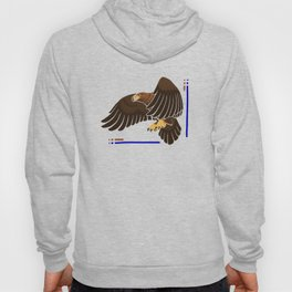 Aquila chrysaetos for wit Hoody