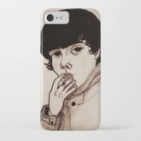 jake iPhone & iPod Cases featuring Jake by Julio César