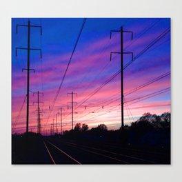 Bristol Tracks Canvas Print