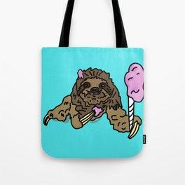 Naughty Sloth Tote Bag