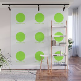 French Lime Wall Mural