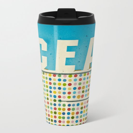 Ocean Metal Travel Mug