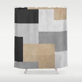 Modern geometry XIV Shower Curtain