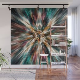Earth Tones Tie Dye Wall Mural