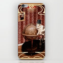 Homaï, steampunk cat iPhone Skin