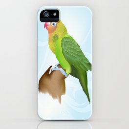 Parakeet iPhone Case