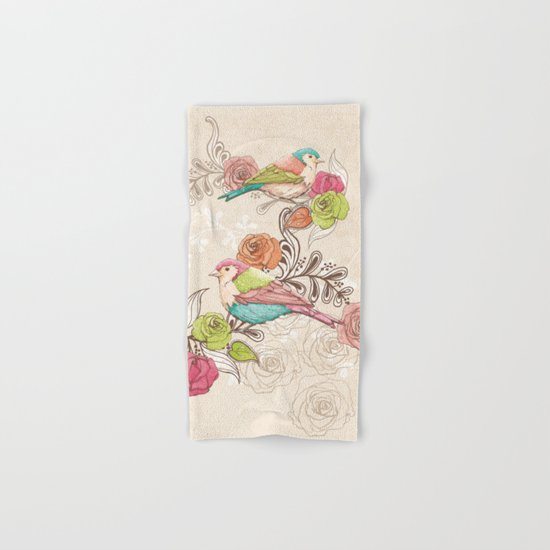 Country Garden Hand & Bath Towel