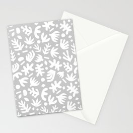 Matisse Paper Cuts // Neutral Gray Stationery Cards