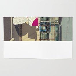 postcard from japan: kyoto#1 Rug