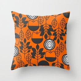 Autumnal abundance Throw Pillow