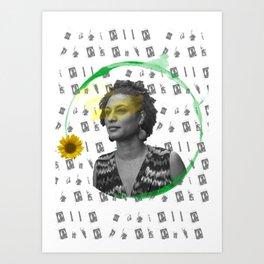 Marielle, Presente Art Print