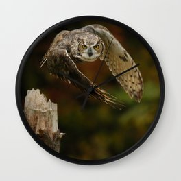 On A Mission Wall Clock