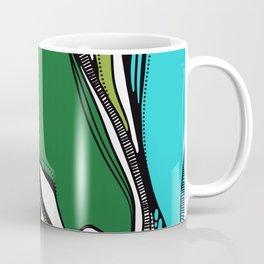 Green dive plongeon vers Coffee Mug