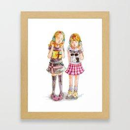 Pop Kids vol.9 Framed Art Print