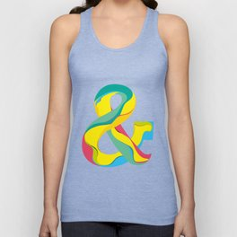 Ampersand Unisex Tank Top