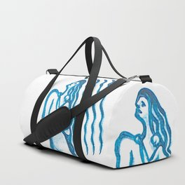 Mother / sketch Duffle Bag