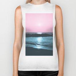 Sunset Ocean Bliss #5 #nature #art #society6 Biker Tank