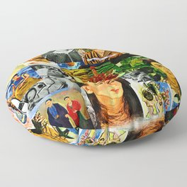 Obsessed with Frida Floor Pillow