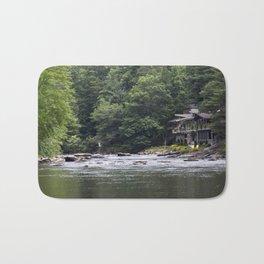 Calming the River Bath Mat