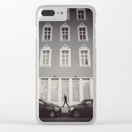 The man of Porto Street Clear iPhone Case