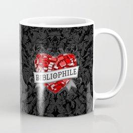 Bibliophile Heart Coffee Mug