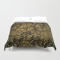 decorative Duvet Covers featuring Decorative damask by nicky2342