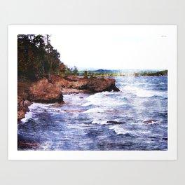 Upper Peninsula Landscape Art Print