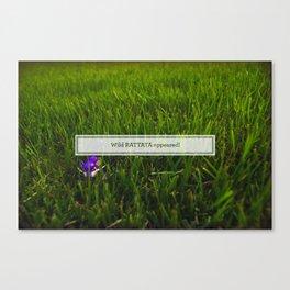 Avoiding tall grass Canvas Print