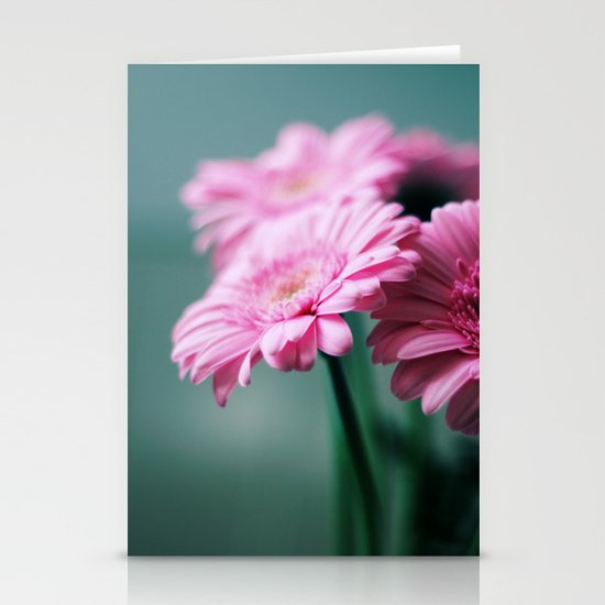 Pink Gerbera Dream°2 Stationery Cards