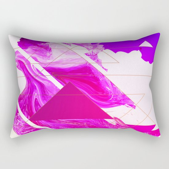Abstract Conceptual 50th Tribute Rectangular Pillow