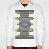 navajo Hoodies featuring Architecture navajo by Moriarty