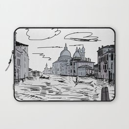 Venice City on the Water . Home Decor, Graphic Design Laptop Sleeve