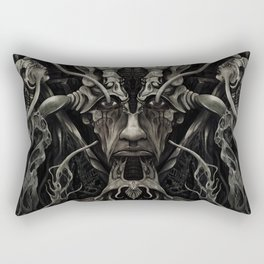 A Consumption of Memory and Identity Rectangular Pillow
