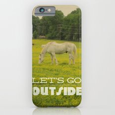 Let's Go Outside Slim Case iPhone 6s