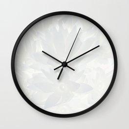 Shiny flower Wall Clock