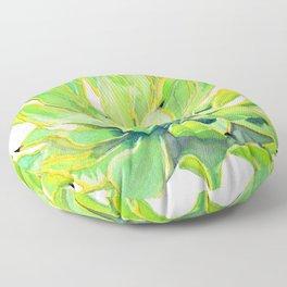 Sunlit Octopus Agave Floor Pillow