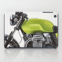 moto iPad Cases featuring Moto Guzzi V7 by Renato Verzaro