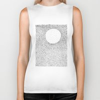 dots Biker Tanks featuring dots by Ioana Luscov