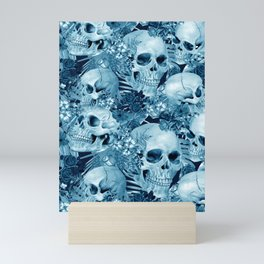 tropic skull Mini Art Print